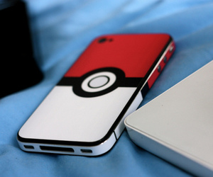 movil, pokeball, and cute image