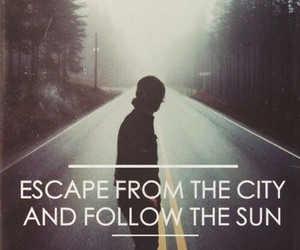 escape, grunge, and quotes image