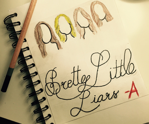 drawing, pll, and prettylittleliars image