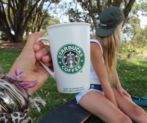 starbucks, tumblr, and coffee image