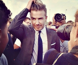 David Beckham, boy, and handsome image