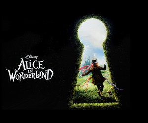 alice in wonderland, mystery, and mad hatter image
