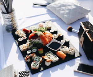 food, sushi, and summer image