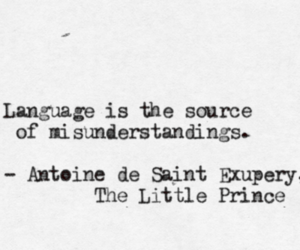 quote and the little prince image
