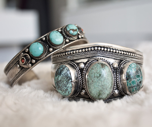 bracelet, accessories, and blue image