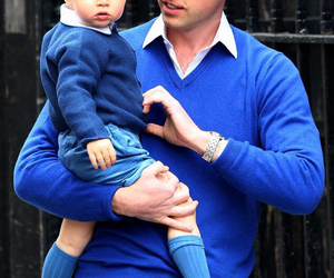 william, prince george, and royal baby image
