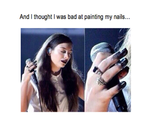 lol, funny, and nails image