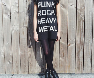 art, heavy metal, and music image