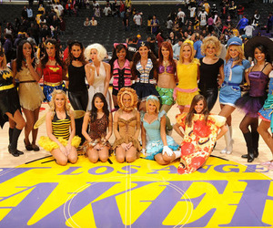costumes and laker girls image