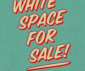 sale and white image