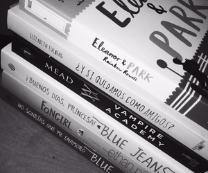 blue jeans, love, and books image