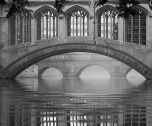 bridge, cambridge, and england image
