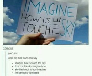 funny, lol, and sky image