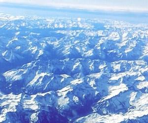 Alps, austria, and Lufthansa image