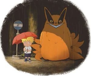 naruto, anime, and totoro image