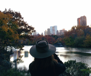 beauty, nyc, and fall image