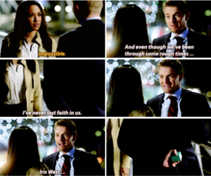 the flash and iris west image