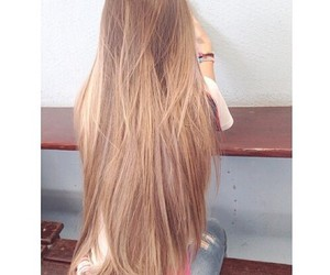 hair, girl, and blond image