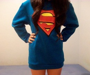 girl and superman image