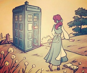 belle, doctor who, and princess image