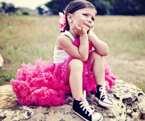cute, girl, and pink image