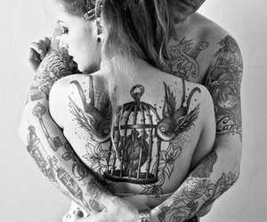 beautiful, boyfriend, and tattoo image
