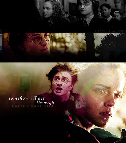 harmony and harry potter image