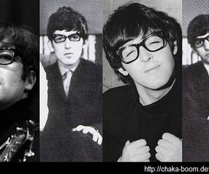 the beatles, beatles, and glasses image
