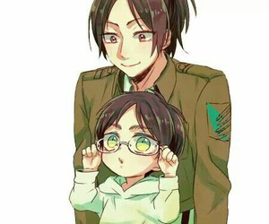 snk, eren, and hanji image