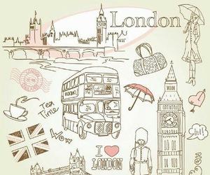 london, england, and Big Ben image