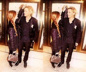 bonnie wright and Jamie Campbell Bower image