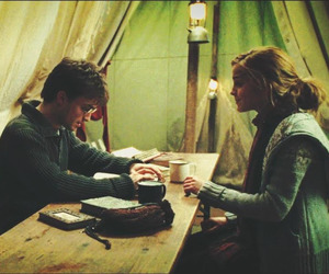 deathly hallows, friendship, and harmony image