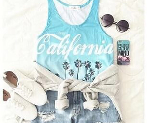 fashion, california, and outfit image