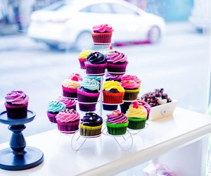 bakery, chocolate, and colours image