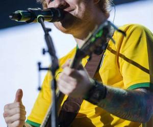 brazil and ed sheeran image