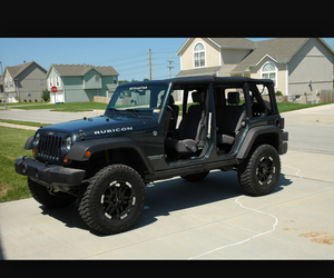 car, jeep, and wrangler image