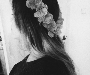 alternative, black and white, and bohemian image