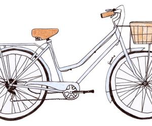 bici, bicicleta, and drawing image