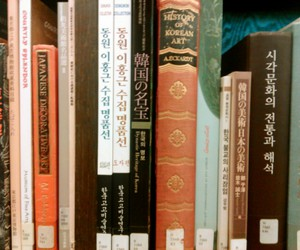 art, asian, and books image