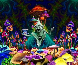 acid, drugs, and trippy image