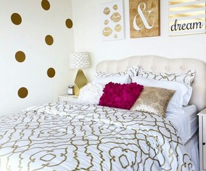 interior design, cute bedrooms, and girly bedroom image