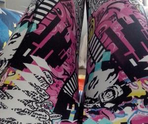 comic book, Lazy, and leggins image
