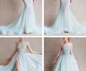 dress, designer, and fashion image