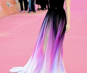 dress, lily collins, and beautiful image