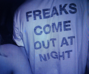 freak, grunge, and night image