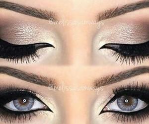 black, eyes, and girl image