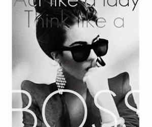 boss, lady, and quotes image