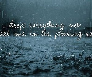 rain, quote, and Taylor Swift image