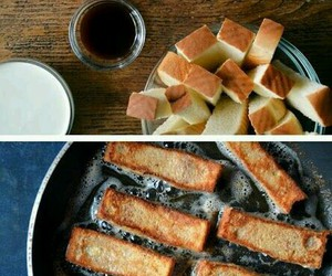 diy, french toast, and food image