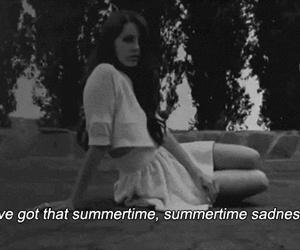 lana del rey, summertime sadness, and summertime image
